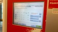 Bahnpreise am Automaten