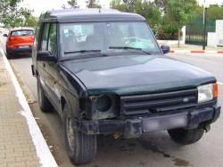 Schaden an einem Fahrzeug in Tunesien