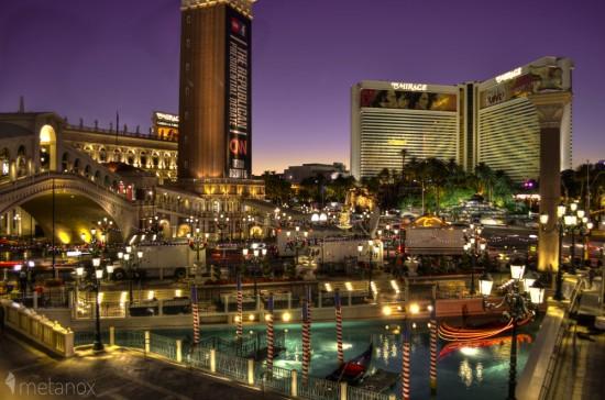 Hotel Venetian und Hotel Mirage