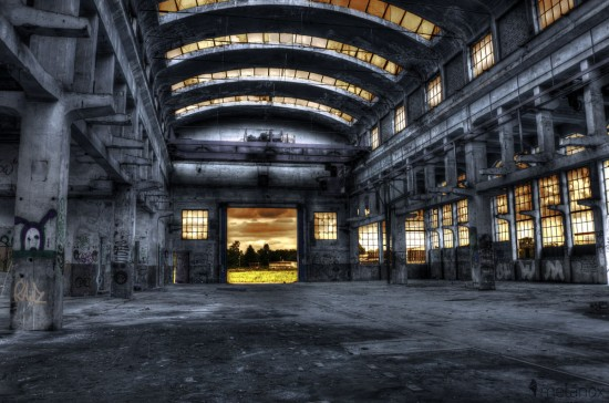 Lost-Place: Industriehalle