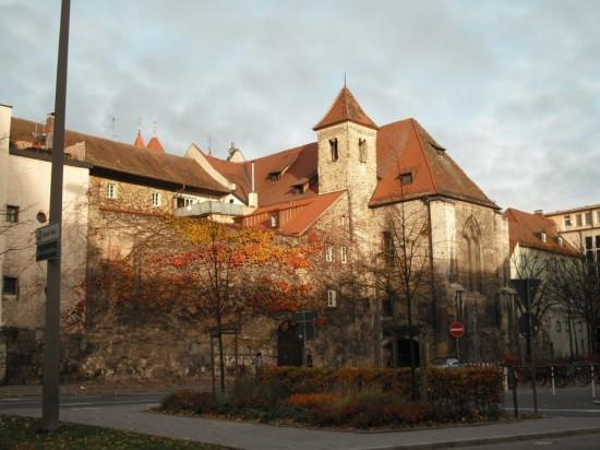 Historische Gebäude in Regensburg