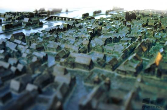 Stadtmodell von Regensburg