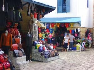 Laden in der Neuen Medina in Hammamet