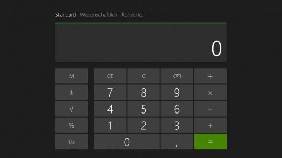 Windows-Taschenrechner