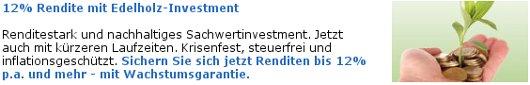 Edelholzinvestment