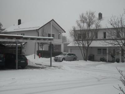 Klimaerwaermung, Schnee