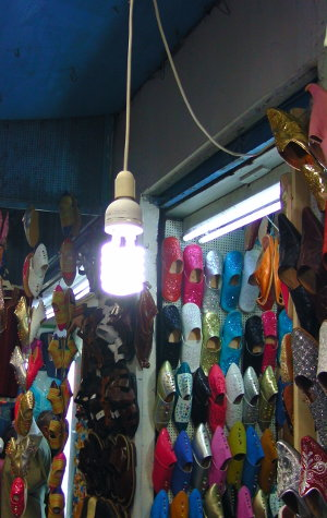 Laden in der Medina in Tunis