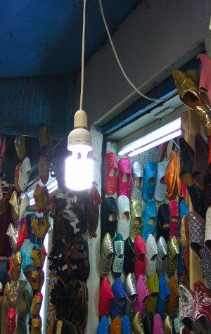 Laden in der Medina in Tunis